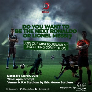 Doxa Mini Tournament and Scouting Scouting Competition