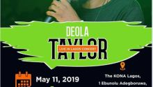 Deola Taylor Live in Lagos Concert