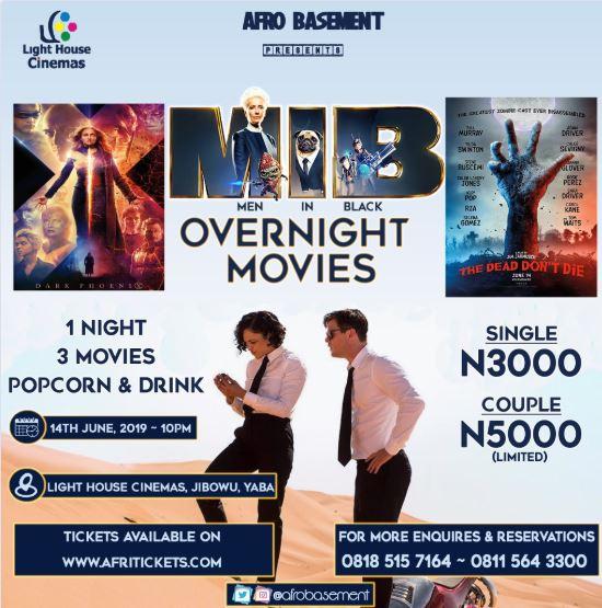 Men In Black Overnight Movies
