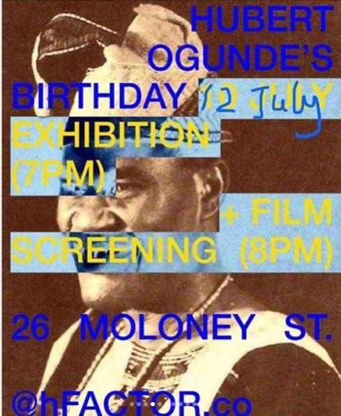 Birthday Exhibition & Film Screening
