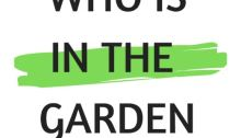 Who Is In The Garden
