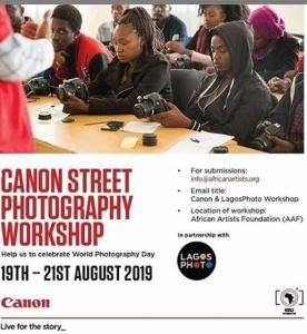 Canon Street Photography Workshop