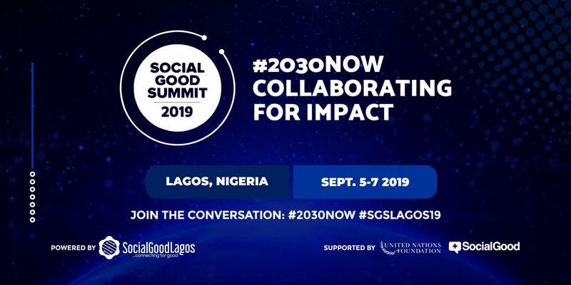 Social Good Summit 2019