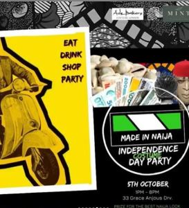 Independence Costume Day Party
