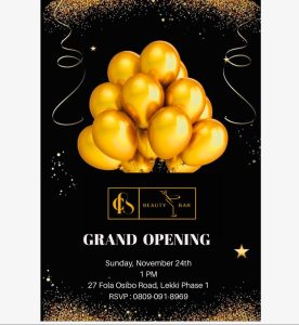 CB Beauty Bar Grand Opening