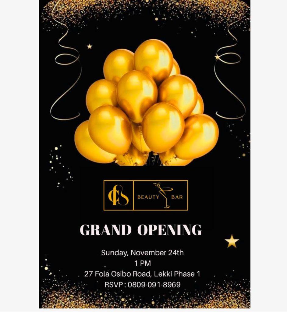 CB Beauty Bar Grand Opening