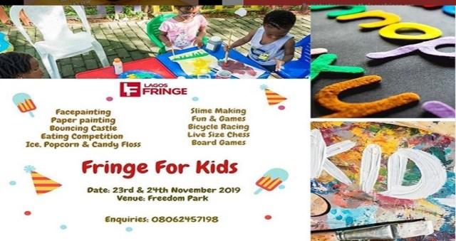 Fringe for kids