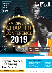 PMI Nigeria Chapter Conference 2019