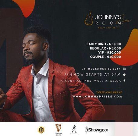 Johnnys Room Live - Abuja