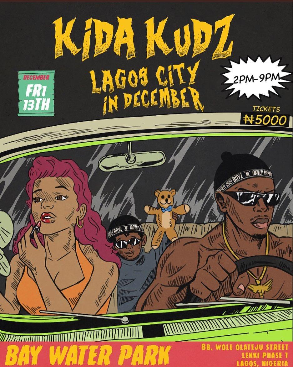 Kida Kudz Lagos City in December