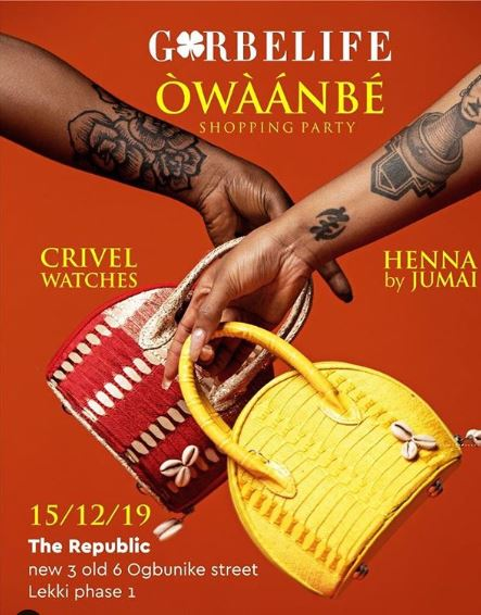 Owaanbe Shopping Party