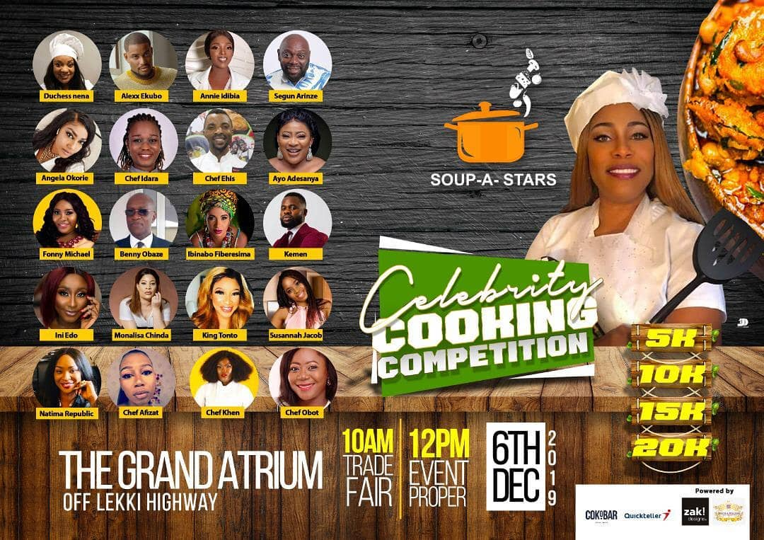 Soup-A-Star Celebrity Cooking Competition
