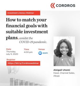 How To Match Your Financial Goals With Suitable Investment Plans Amidst The Covid-19 Pandemic