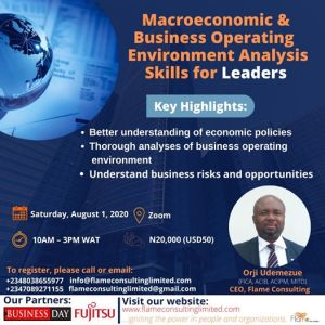 Macroeconomic & Business Operating Environment Analysis Skills For Leaders
