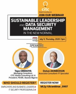 Sustainable Leadership and Data Security Management In The New Normal