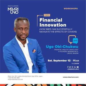Financial Innovation with Ugo Obi-Chukwu