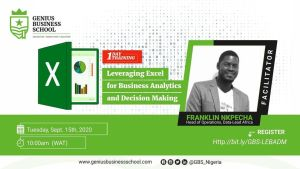 Leveraging Excel For Business Analytics And Decision Making
