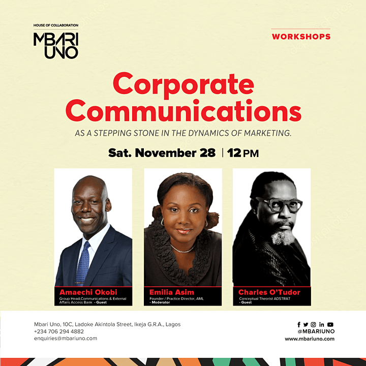 Corporate Communications as a Stepping Stone in the Dynamics of Marketing