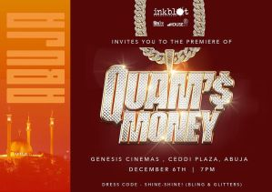 Quam's Money Premiere