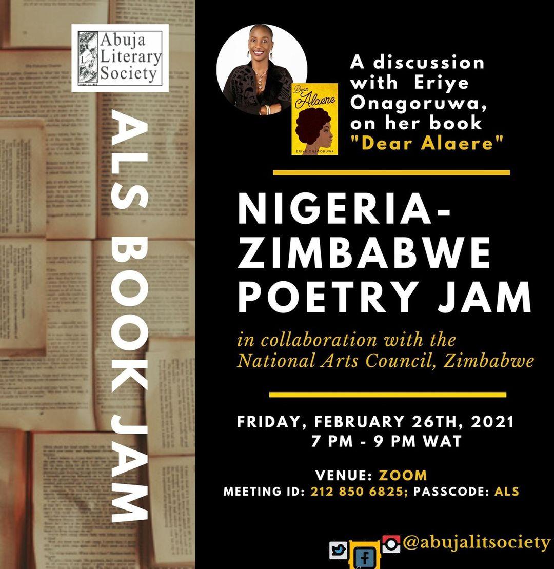 Nigeria-Zimbabwe Poetry Jam