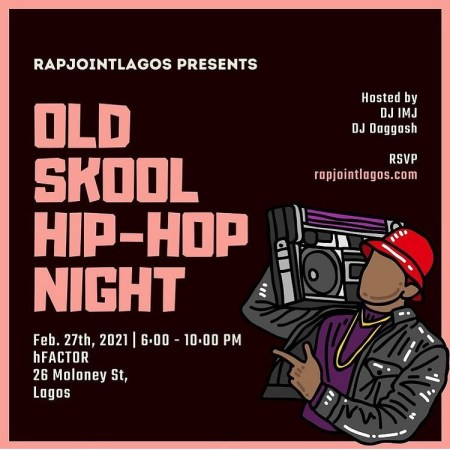 Old Skool Hip-Hop Night