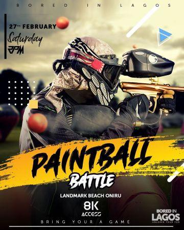 Paintball Battle