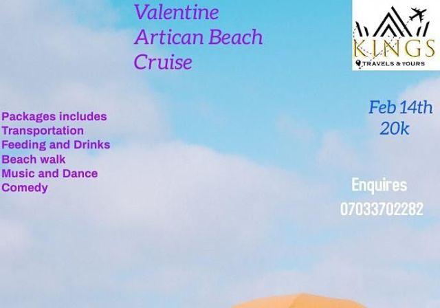 Valentine Artican Beach Cruise