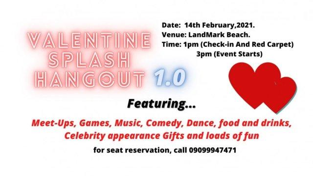 Valentine Splash Hangout