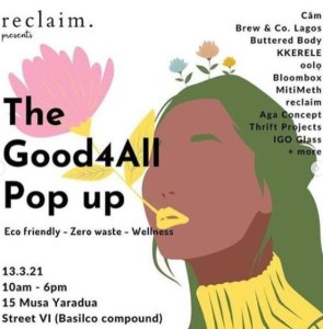 The Good4All Pop Up 