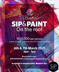 Sip & Paint on the Roof