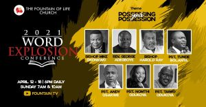 2021 Word Explosion Conference