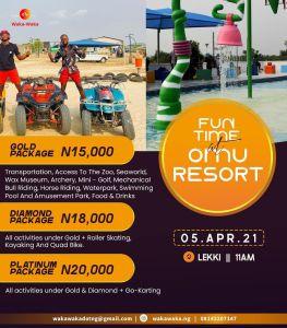 Fun Time at Omu Resort