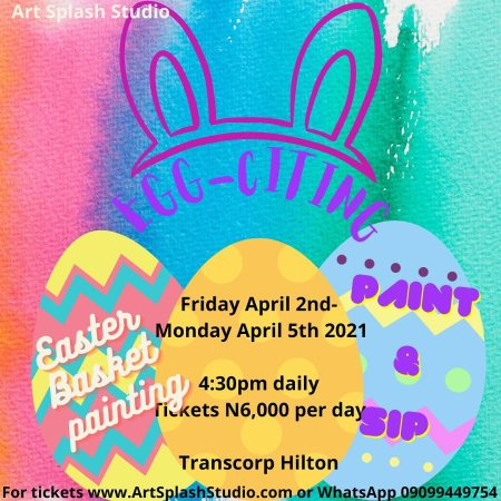 Paint & Sip - Easter Basket Painting