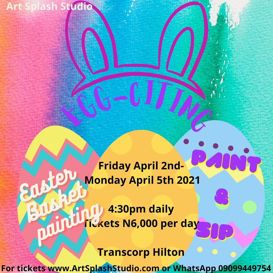 Paint & Sip - Easter Basket Painting