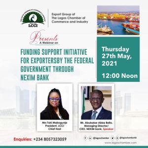 Funding Support Initiative By The Federal Government Through Nexim Bank