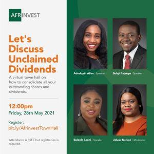 Let's Discuss Unclaimed Dividends