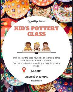 Kids' Pottery Class