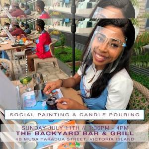 Social Painting & Candle Pouring