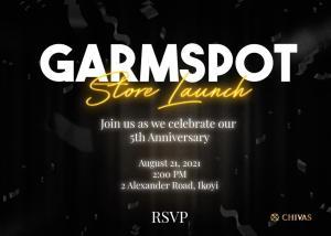 Garmspot Store Launch