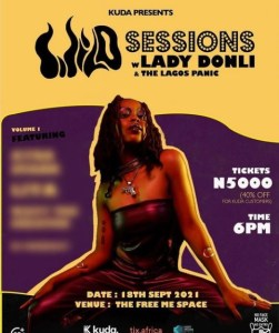 Wild Sessions With Lady Donli & The Lagos Panic