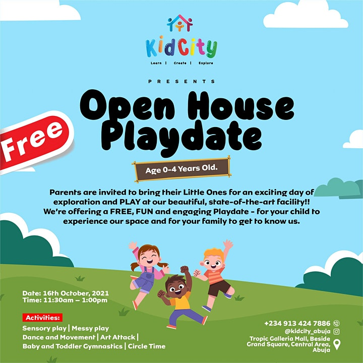 Open House Playdate