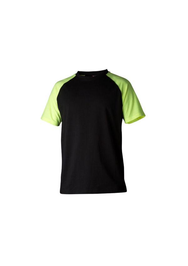 Top Swede - T-Shirt 225 svart/gul