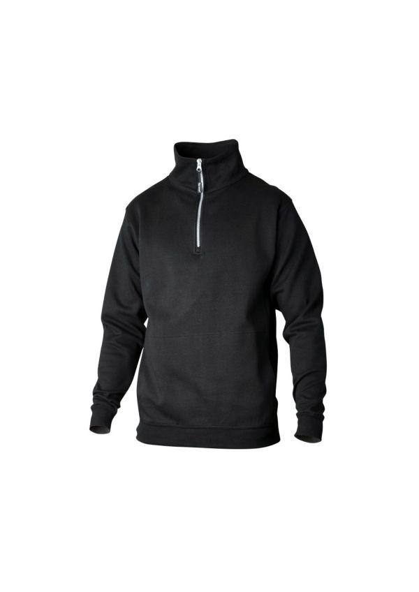 Top Swede - Sweatshirt zip svart