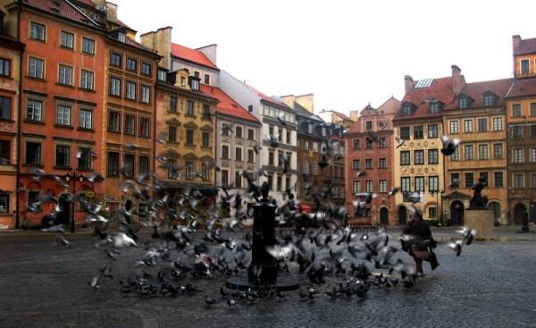 Варшава, Польша — Туровед