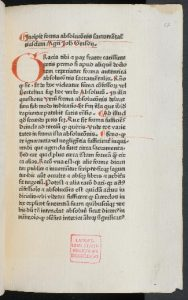 Gerson, Johannes De pollutione nocturna 1466