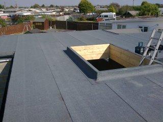 3 layer felt roof 1