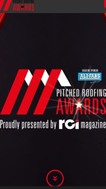 RCI Pitched Roofing Awards Finalist 2019