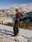 Drømme skitur rundt Kvæven.