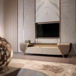 Melting Light Tv Unit Turri Made In Italy Furniture