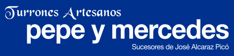 Logotipo de turones pepe y mercedes